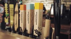 MacKinnon Brothers Brewing Co. Beer Tap Handle Design / campsharrow.com