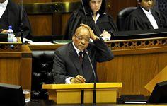 Tsunami about to hit Jacob Zuma.  President Jacob Zuma. Photo by Gallo Images / Beeld / Lerato Maduna