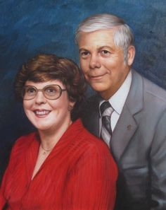 Your Photo with your partner, husband or wife hand painted by Professional Artists. Couple Portraits - Turn photos into the perfect wedding gift for a couple.
