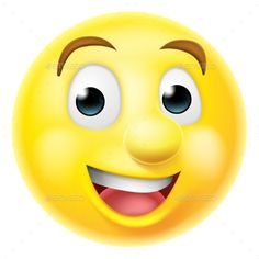 Buy Happy Smiling Emoji Emoticon by Krisdog on GraphicRiver. A happy smiling cartoon emoji emoticon smiley face character Icon Emoji, Emoticons, Smileys, Emoticon Faces, Catchy Phrases, Emoji Wallpaper, Face Characters, Happy Smile, Smile Face