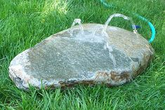 Our Rock Water Fountains are perfect for adding water play to your natural playscape. Simply connect a garden hose to the fountain and watch as the water bubbles out of the rock. Children can press their hands against one hole … READ MORE