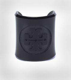 My Gift Wish List:  Tory Burch Lucite Cuff.  In black.  But I'll take white, too. . .