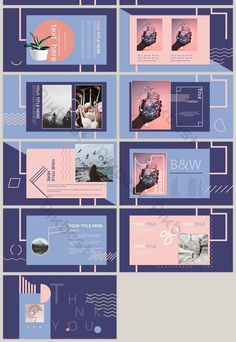 fashion color blocks geometric stitching minimalist lines ppt template is part of Powerpoint design templates - Powerpoint Design Templates, Presentation Design Template, Ppt Design, Presentation Layout, Slide Design, Brochure Design, Book Design, Presentation Slides, Media Design