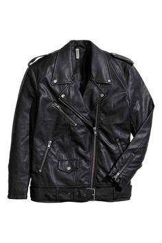 Blusão motard   H&M
