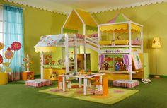 子供部屋 家具 ロフトベッド テーブル カーテン ラグ