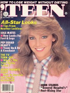 Heather Locklear - Teen Magazine Cover [United States] (September 1983)