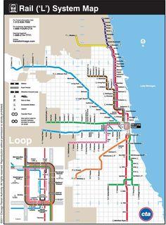 Ctamap Lsystem Fancy L Map Chicago. Ctamap Lsystem Fancy L Map Chicago - Collection of Map Pictures Chicago Vacation, Moving To Chicago, Chicago Travel, Chicago Loop Map, Chicago Poster, Visit Chicago, Chicago City, Chicago Style, Chicago Blackhawks