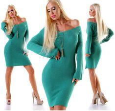Strickkleid lang von agfashion.de Dresses, Fashion, Fashion Styles, Breien, Gowns, Vestidos, Moda, Dress, Fashion Illustrations