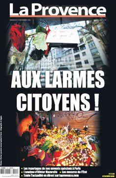 Attentats de Paris: la presse en DEUIL dimanche