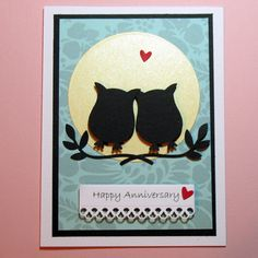 By PuppyLoveCreations. Uses the Stampin' Up owl punch.