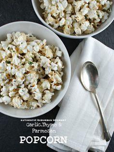 Truffle Bacon Popcorn Plus 6 Savory Popcorn Recipes | foodiecrush