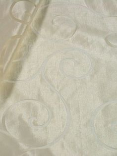 Sheer - 4859 - CHARDONNAY SCROLL  Price Per Yard: $27.50        Product ID:   BB 4859-05  Manufacturer:   B. Berger