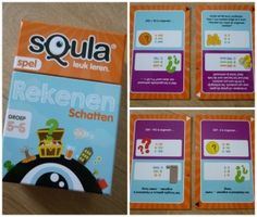 squla rekenen schatten groep 5 - 6 recensie kaartspel identity games