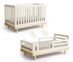 Oeuf Eco-friendly Convertible Crib Oeuf Eco-friendly Convertable Crib, Sustainable Kids Furniture, Sustainable Baby Furniture, Moderntots, Inhabitots, Toddler Bed Conversion Kit, Convertible crib, Convertible Crib, Toddler Bed, Sustainable Furniture – Inhabitat - Sustainable Design Innovation, Eco Architecture, Green Building