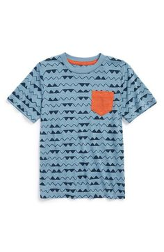4c57a5ea8ebf45 Tucker + Tate Contrast Pocket T-Shirt (Toddler Boys, Little Boys &