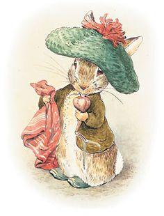Ilustración de Beatrix Potter.