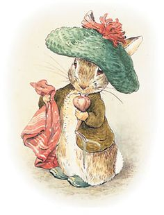 Beatrix Potter illustration,Victorian Edwardian artists,book illustration,British artists - God bless Beatrix Potter. Her illustrations are in mine and my children's hearts forever.