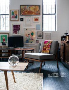 gallery wall #decor #quadros