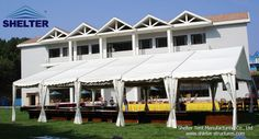 Wedding Tent | Catering Tent 20*25 clear span tent with white PVC fabric