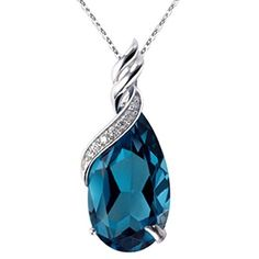 """Qianse Christmas Gifts, Thanksgiving Day GiftsGlass Slipper 7"""" Bangle Bracelet Made with Blue SWAROVSKI Crystal, Upcoming Black Friday Deals, Women Fashion Jewelry"""