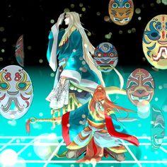 Anime# the twelve kingdoms#Youko & keiki# kingdom kei