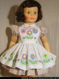 Yo-Yo Flower Apron & Dress 4 Ideal Patti Playpal