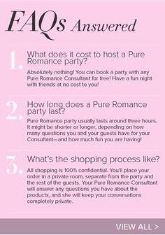 Pure Romance - Host a Party Www.pureromance.com/DanielleHalvorson