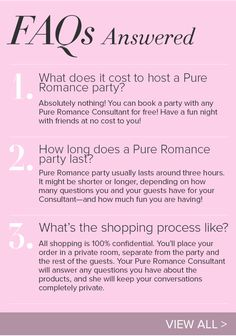 Pure Romance - Host a Party