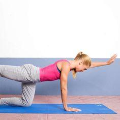 5 enkla övningar för stark rygg och snygg hållning Stark, Gym Equipment, Exercise, Running, Sports, Ejercicio, Hs Sports, Keep Running, Excercise