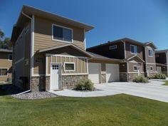 Billings Montana Townhouse For Rent At 1611 Avenue E, Billings, MT 59102