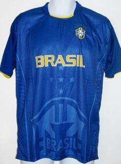 BRAZIL SOCCER JERSEY T-SHIRT L LARGE FOOTBALL WORLD CUP BRASIL FUTEBOL CAMISETA#Drako #soccershirts #soccerjerseys #fifaworldcup #football #soccer #worldcup2014 #brazil #brasil