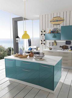 Sea Blue Kitchen Cabinet White Holiday Ideas