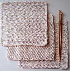 http://cornflowerbluestudio.blogspot.nl/2010/07/knitting-and-crochet-patterns-cotton.html# Cornflower Blue: knitting and crochet patterns :: cotton cloths