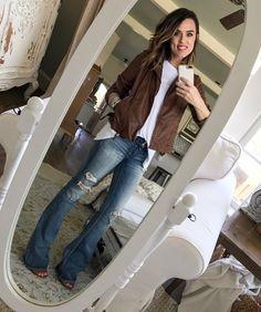 Cotton Stem Blog capsule wardrobe flare denim vegan leather jacket.jpeg