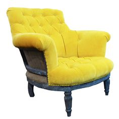 This armchair is a work of art in its own right that has been made to be ooohed and aaahed over.