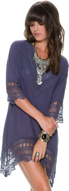 Rowan Embroidered Tunic All in a day's work!