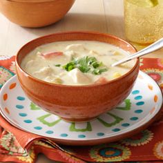 Mexican Chicken Corn Chowder Recipe from Taste of Home -- shared by Susan Garoutte of Georgetown, Texas
