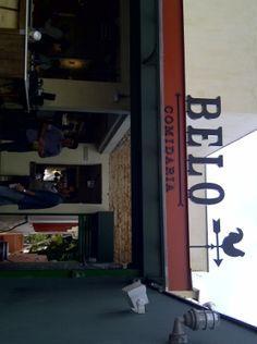 Fachada do restaurante (Fonte da imagem: Clara Bello)