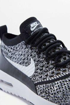 Nike Air Max Thea Black Mesh Trainers