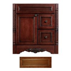 Architectural Bath�Versailles Cognac Traditional Bathroom Vanity (Common: 36-in x 21-in; Actual: 36-in x 21-in)