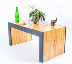 Konferenční stolek #design #woodheart #dřevo #stul #stolek