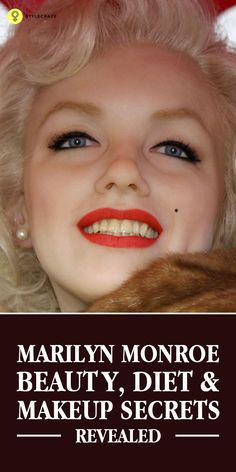 Marilyn Monroe is a significant sex symbol of all times. She is amazingly pretty & this credit all goes to her unique beauty, diet & makeup secrets ...