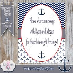 Nautical DonT Say Baby Baby Shower Game Clothes Pin Game
