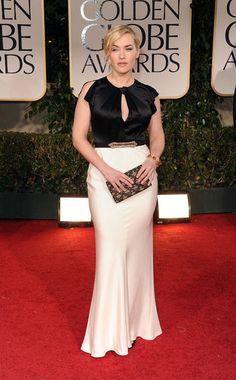 Kate Winslet @ the 2012 Golden Globes