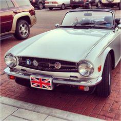 British lisense on a 4d Mustang