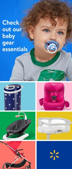 """From nursery furniture to travel systems and top car seats, you can find everything you need for you and your baby at Walmart. Discover premium baby brands as well as all your top-quality favorites""""all at our everyday low prices. Shop the collection today."""