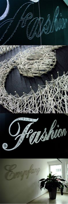 String typography