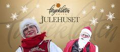 Julehuset veita. Helårs julebutikk med et stort utvalg av julepynt og juleartikler.