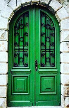 Cool Doors, Unique Doors, The Doors, Windows And Doors, Front Doors, Grand Entrance, Entrance Doors, Doorway, Door Knockers