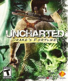 Uncharted: Drake's Fortune Original Box Art HD